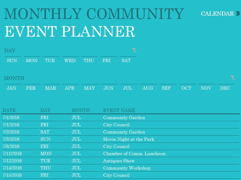 Event Schedule Planner Template Trattorialeondoro