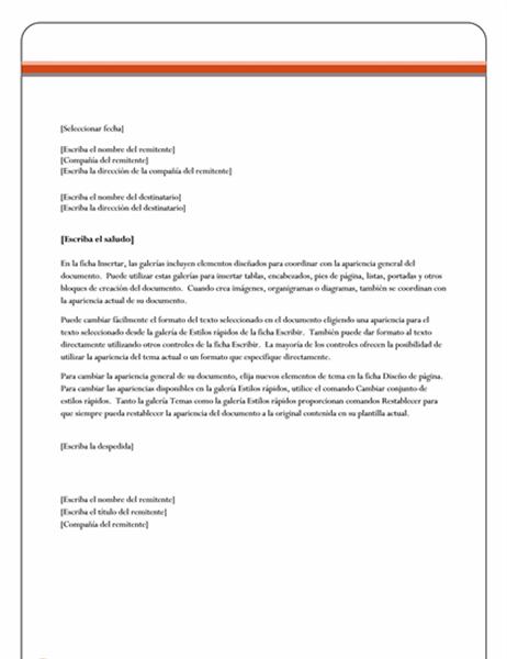 Formato Carta Formal Globeooffer Com