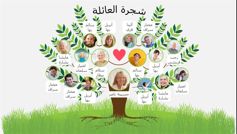 شجرة العائلة
