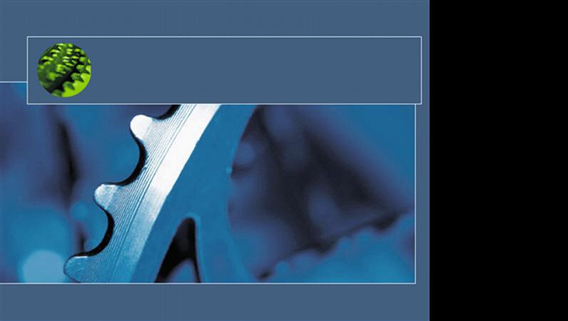 قالب تصميم العجلة الدوارة الزرقاء
