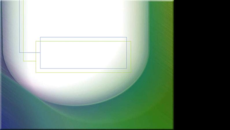 لون أزرق مخضر معدني على قالب تصميم أبيض