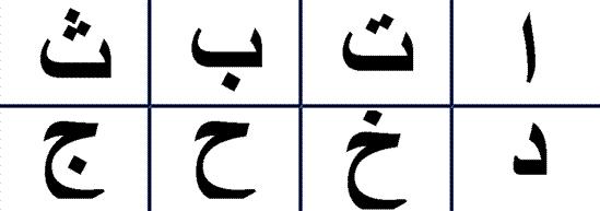 شعارات لأحرف وأرقام (8.5×11)