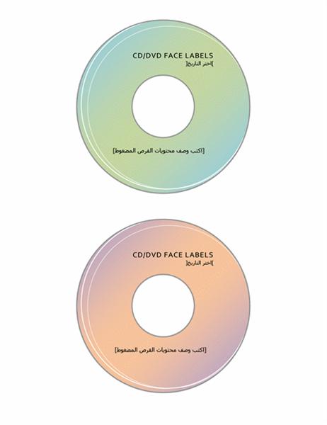 تسميات وجه القرص المضغوط /قرص DVD
