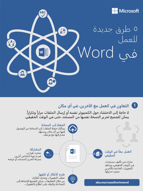 5 طرق جديدة للعمل في Word