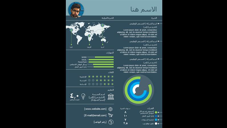 الرسم البياني لمعلومات السيرة الذاتية العالمي