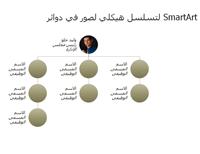 رسم تخطيطي هيكلي للصور الدائرية (شاشة عريضة)