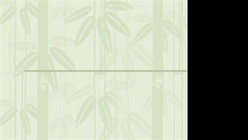 Шаблон на проект с бамбук 2