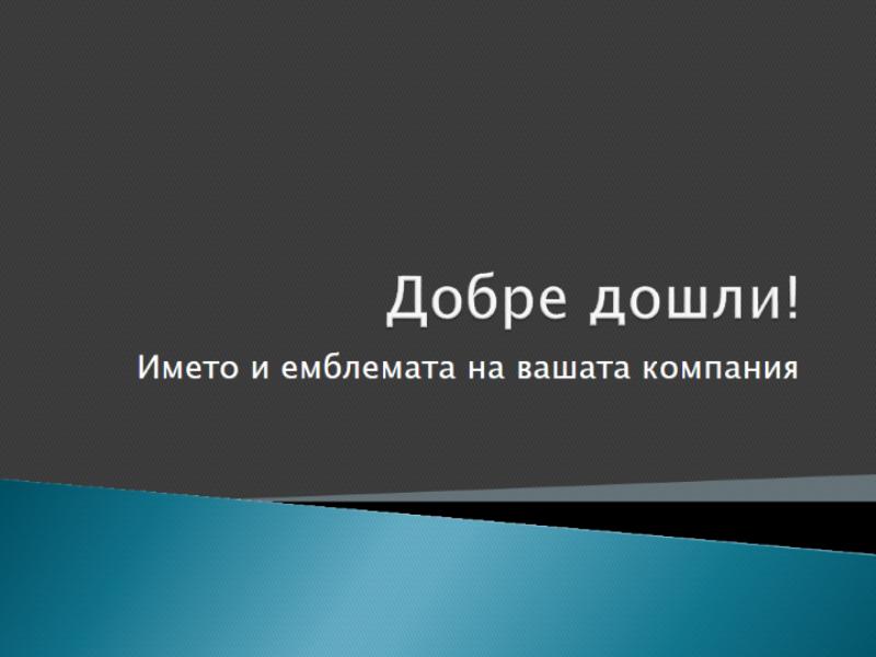 Презентация за ориентацията на служителите