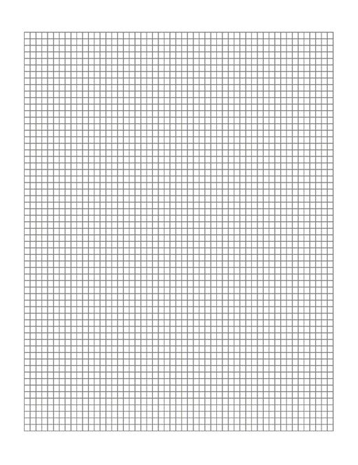Милиметрова хартия