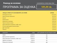 Програма за оценка за разходи за колеж
