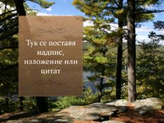 Картинен фон с текстуриран надпис