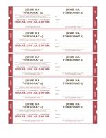 Лотарийни билети