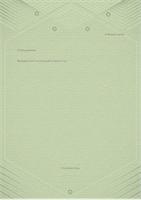 Шаблон за лични писма (елегантен дизайн в сиво и зелено)