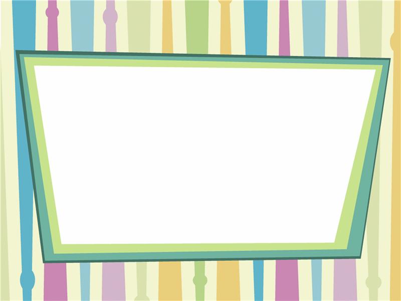 Šablona návrhu Barevné pásky