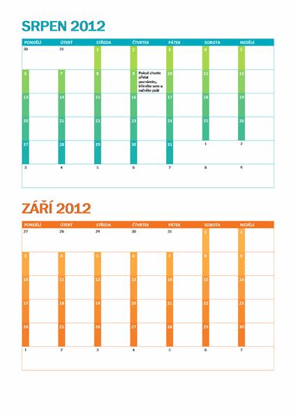 Školní kalendář (po-ne)