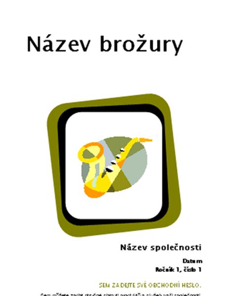 """Brožura pro produkty a služby (8,5"""" x 11"""", přeložená, 8 stran)"""