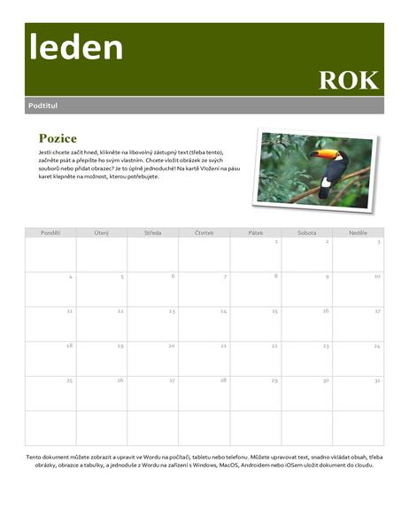 Kalendář s fotkami