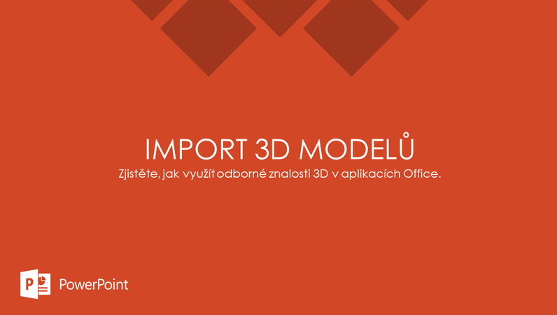 Import 3D modelů