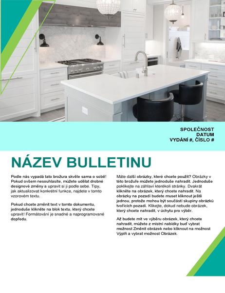 Bulletin pro interiérový design
