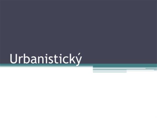 Urbanistický