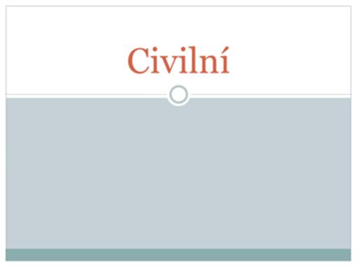 Civilní