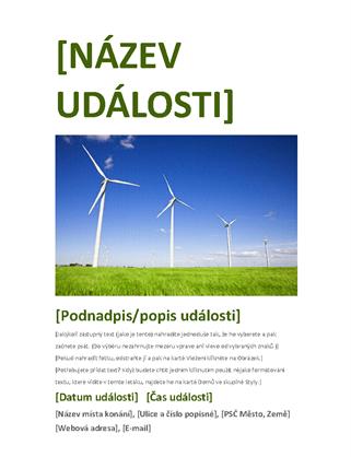 Leták akce (zelený)