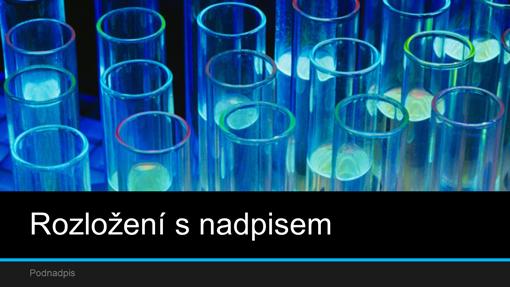 Laboratorní vědecká prezentace (širokoúhlá)