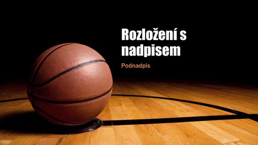 Basketbalová prezentace (širokoúhlý formát)