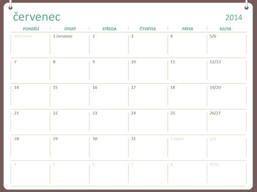 Akademický kalendář 2014–2015 (červenec–červen)