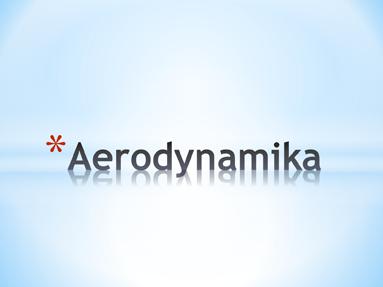 Aerodynamika