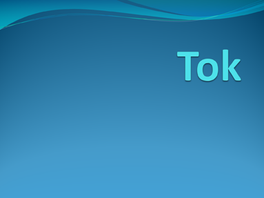 Tok for Tok presentation template
