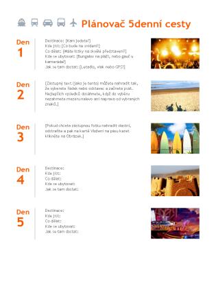 Plánování výletů