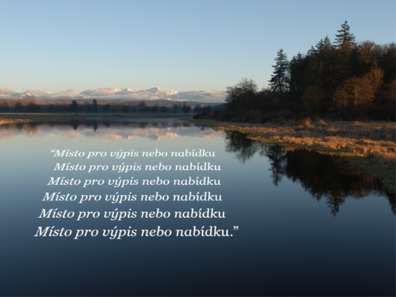 Obrázek s citací v perspektivním zobrazení