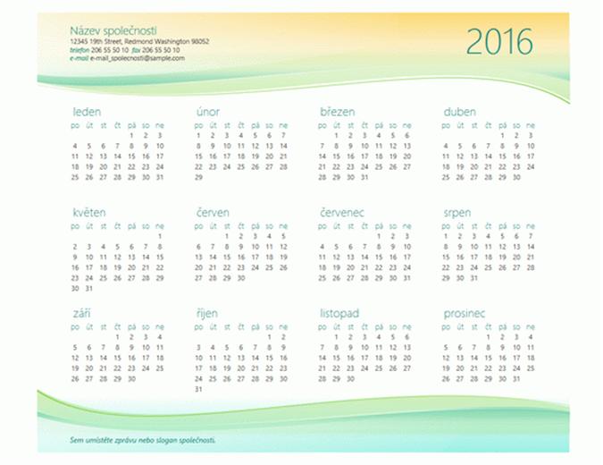 Malý kancelářský kalendář (libovolný rok)