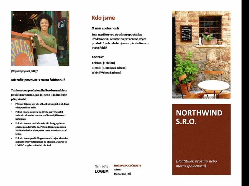 Malá obchodní brožura