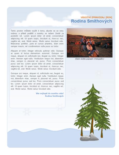 Rodinný vánoční zpravodaj