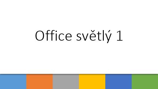 Office světlý 1