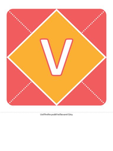 Nápis pro přivítání holčičky (růžová, žlutá, zelená)