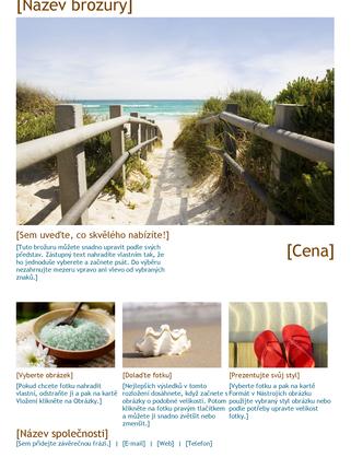 Brožura cestovní kanceláře