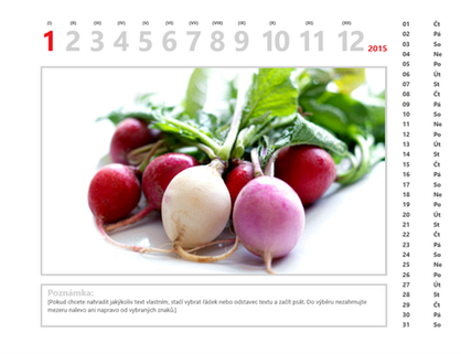 Fotokalendář na rok 2015