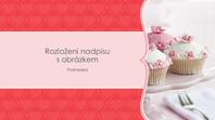 Fotoalbum s růžovými srdíčky (širokoúhlý formát)