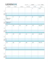 Plánovací kalendář výuky