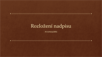 Klasická knižní prezentace (širokoúhlá)