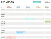 Denní plán