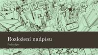 Prezentace se skicou města (širokoúhlá)