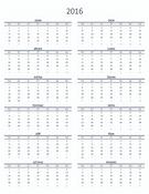 Kalendář na jeden rok