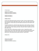 Dopis (návrh Rovnost)