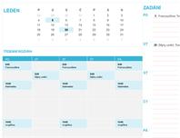 Studentský kalendář