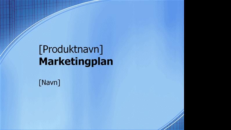 Præsentation til marketingplan
