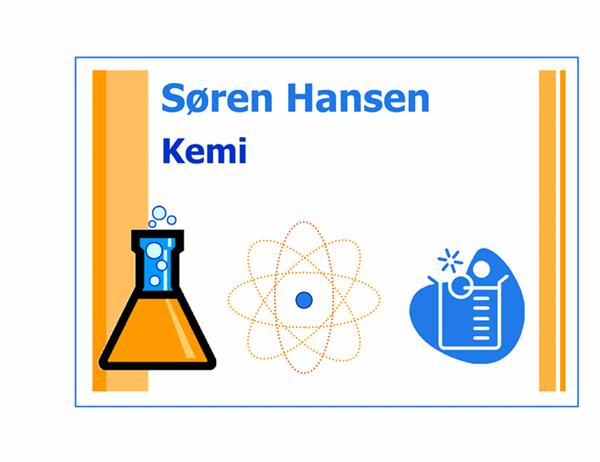 Klasseværelseskilt (kemi)